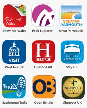 Around Me App Icons