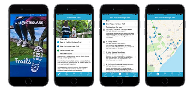 Eastbourne Trails App