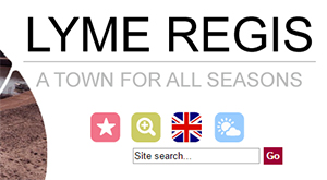 Site search on www.lymeregis.org