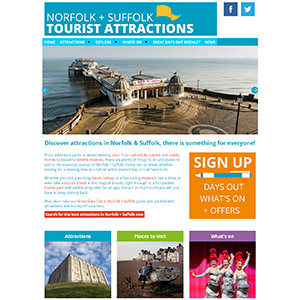 Norfolk and Suffolk Tourist Attractions
