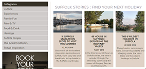 Blog on www.visitsuffolk.com