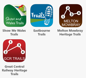 Walks and Trails Apps